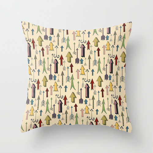 arrows cushion